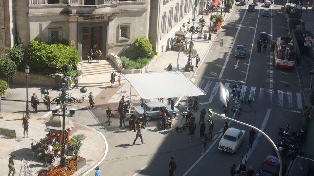 Rodaje de 'Un hombre de acción' de Netflix en Vigo