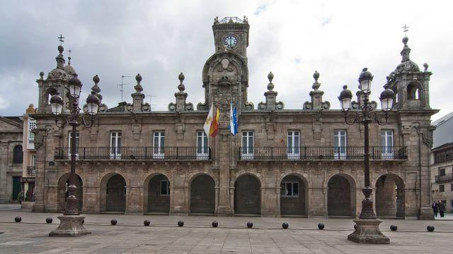 Fachada del Ayuntamiento de Lugo.