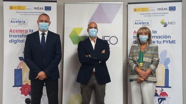 Principales representantes de la CEP, de INEO y de la CEO (izda. a dcha.).