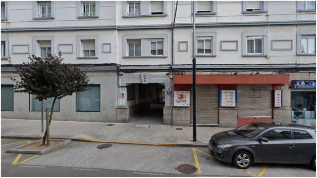 Carretera de Castilla, Ferrol.