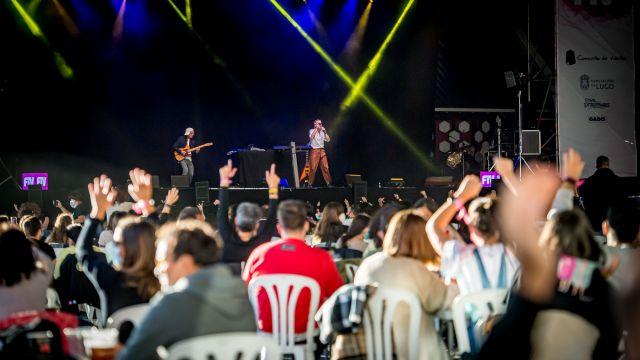El público durante un concierto del FIV.