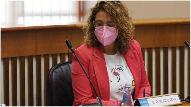 La portavoz de Infraestructuras, Patricia Otero.