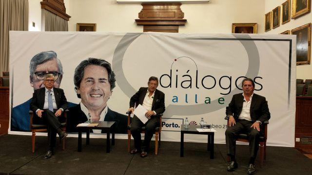 Foro Diálogos Gallaecia celebrado hoy en Oporto.