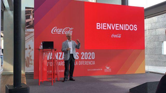 El director de comunicación de la Zona Norte de CCEP Iberia, Gonzalo Márquez.