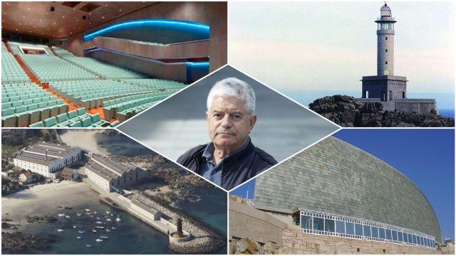El arquitecto César Portela, el padre de la Galicia moderna.