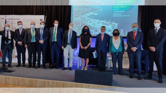 Imagen de la clausura del evento Green Energy Ports Conference