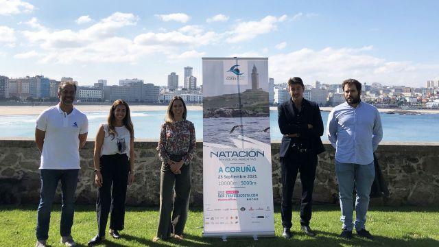 Presentación de la Travesía Costa Coruña 10000.