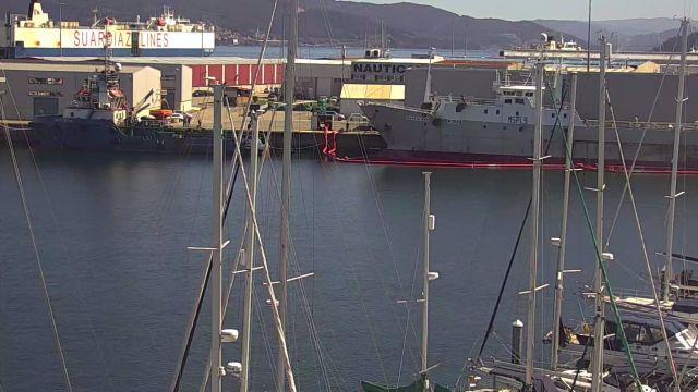 El puerto de Vigo en una foto de archivo.