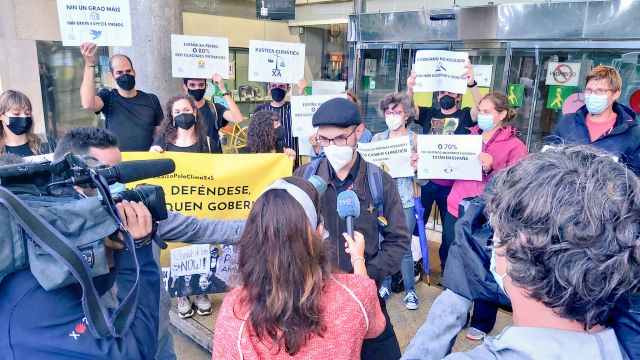 Protesta esta tarde en A Coruña en defensa del clima