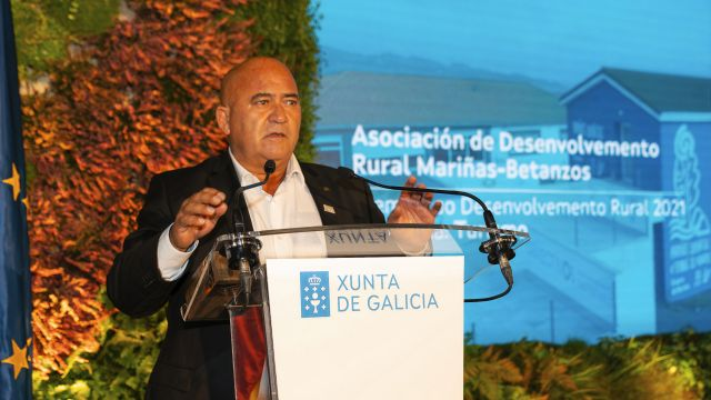 El presidente de Mariñas Coruñesas, José Antonio Santiso.