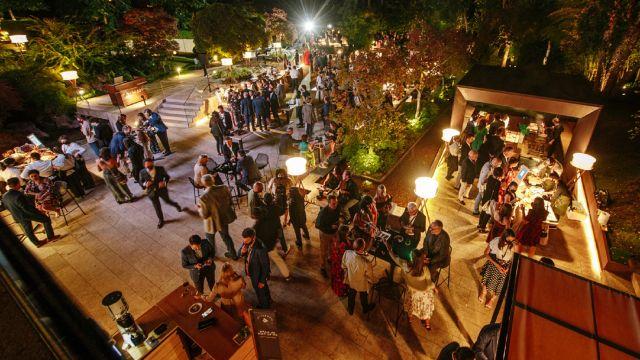 El evento solidario de Trezeluzes celebrado este año en la Finca Montesqueiro de Oleiros (A Coruña).