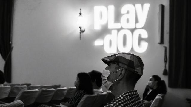 Imagen del la edición 2021 del Play-Doc, en Tui.
