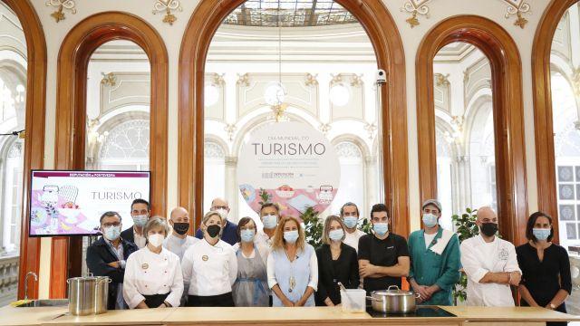 La Diputación de Pontevedra celebra el Día Internacional del Turismo.