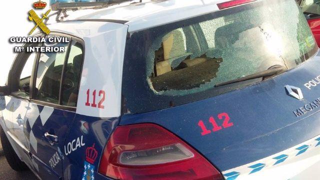 Vehículo de la Policía Local de A Guarda (Pontevedra)