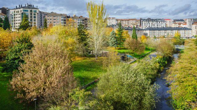 Río Barbaña a su paso por Ourense