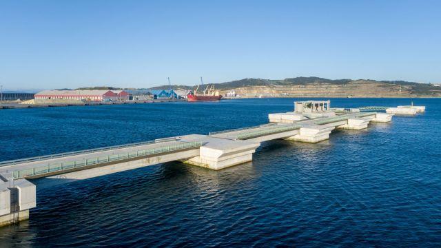 El Puerto Exterior de A Coruña.
