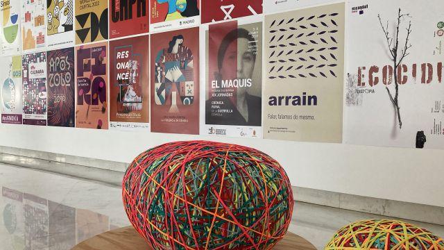 Imagen de la exposición FSWD que se inaugura este viernes en el CGAC de Santiago